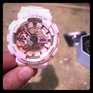 G-Shock (Baby-G) analog watch